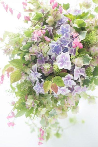 画像1: セゾニエ 毎月届く季節のブーケ (1)