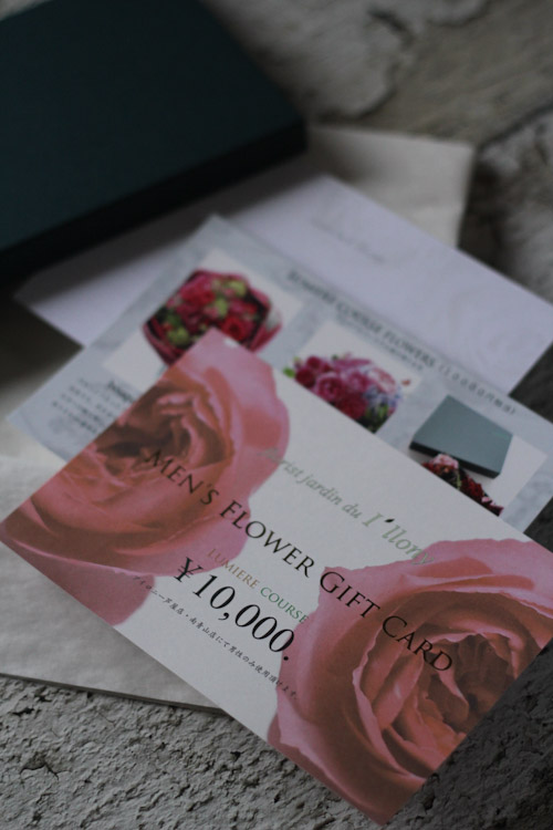 画像1: MEN`S  FLOWER  GIFT  CARD  10000円相当 BOX付き