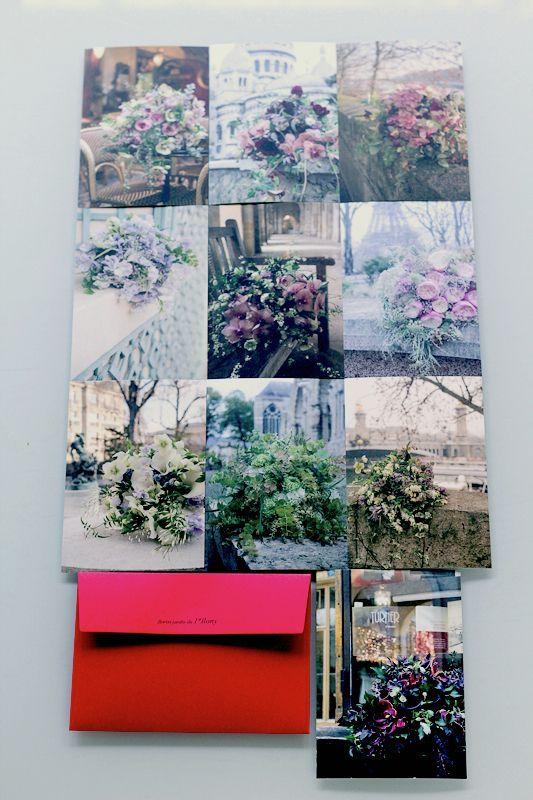 画像3: アイロニー パリ店 オリジナルポストカード 10枚 × 3セット【Bleu】【Blanc】【Rouge】