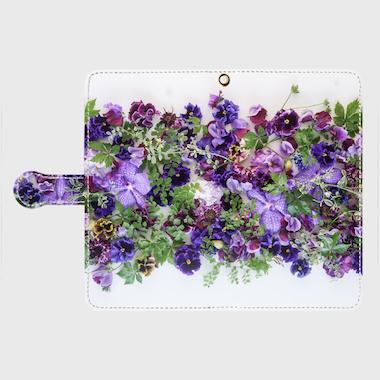 画像1: (spring)手帳型スマホケース Android用