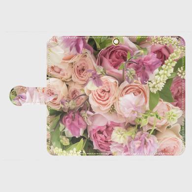 画像1: (romantic)手帳型スマホケース Android用