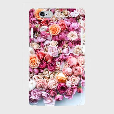 画像1: (rose) プラスチック スマホケース iPhone用