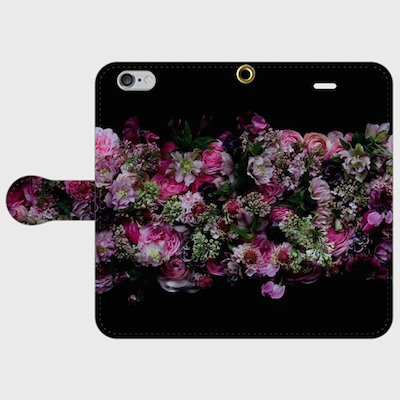 画像1: (glow) 手帳型スマホケース iPhone用