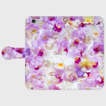 画像1: (orchid) 手帳型スマホケース iPhone用