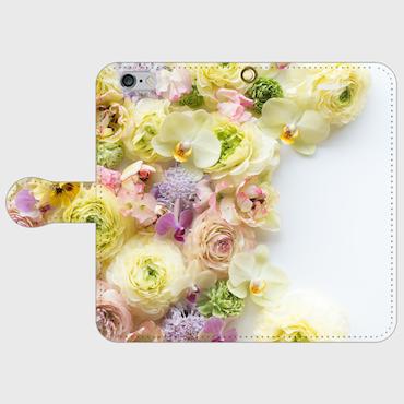 画像1: (papillon) 手帳型スマホケース iPhone用