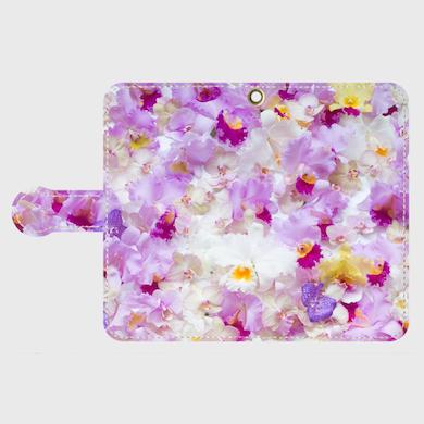 画像1: (orchid)手帳型スマホケース Android用
