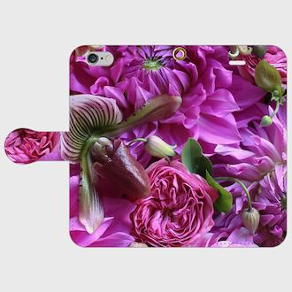 画像1: (paphio) 手帳型スマホケース iPhone用