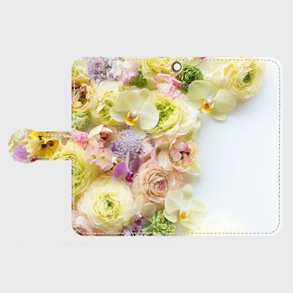 画像1: (papillon)手帳型スマホケース Android用