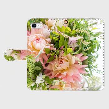 画像1: (tender) 手帳型スマホケース iPhone用