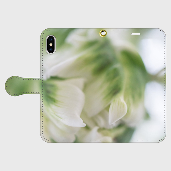 画像1: (Veli tulip 2) 手帳型スマホケース iPhone用