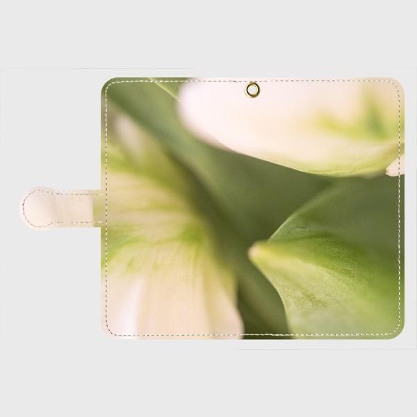 画像1: (Veli tulip)手帳型スマホケース Android用